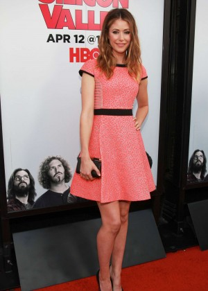 "Amanda Crew - ""Silicon Valley"" Season 2 Premiere in Hollywood"