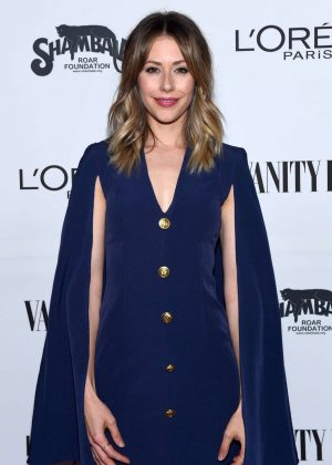 Amanda Crew - Vanity Fair and L'Oreal Paris Toast to Young Hollywood in West Hollywood