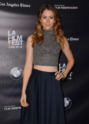 Amanda Crew - 'Weepah Way For Now' Screening at 2015 LA Film Festival