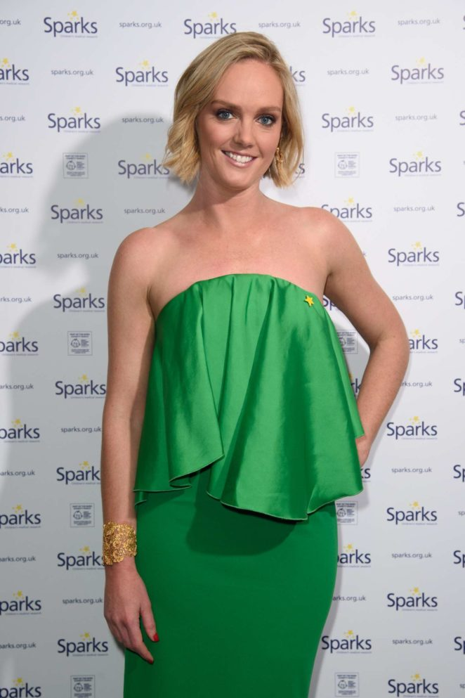 Amanda Davies - 2017 Sparks Winter Ball in London