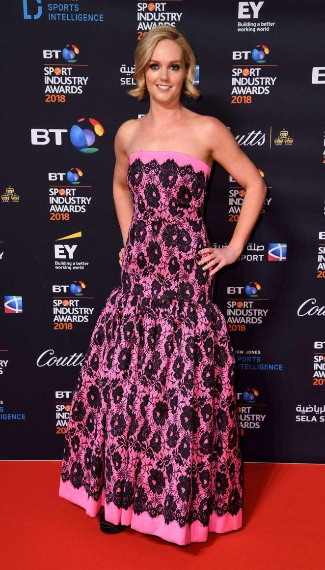 Amanda Davies - 2018 BT Sport Industry Awards in London
