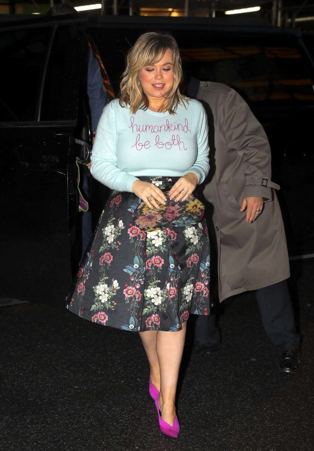 Amanda Fuller - Arriving for an event at the Mandarin Oriental hotel in NY