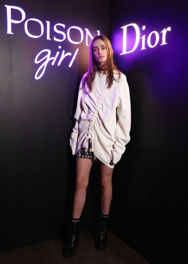 Amanda Googe - Dior Celebrates 'Poison Girl' in New York