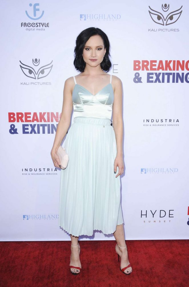 Amanda Grace Benitez - 'Breaking and Exiting' Premiere in Los Angeles