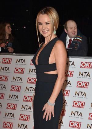 Amanda Holden - 2015 National Television Awards in London