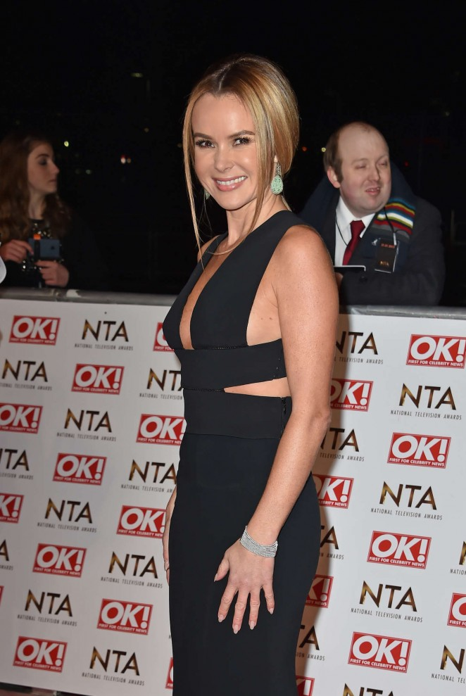 Amanda Holden - 2015 National Television Awards in London