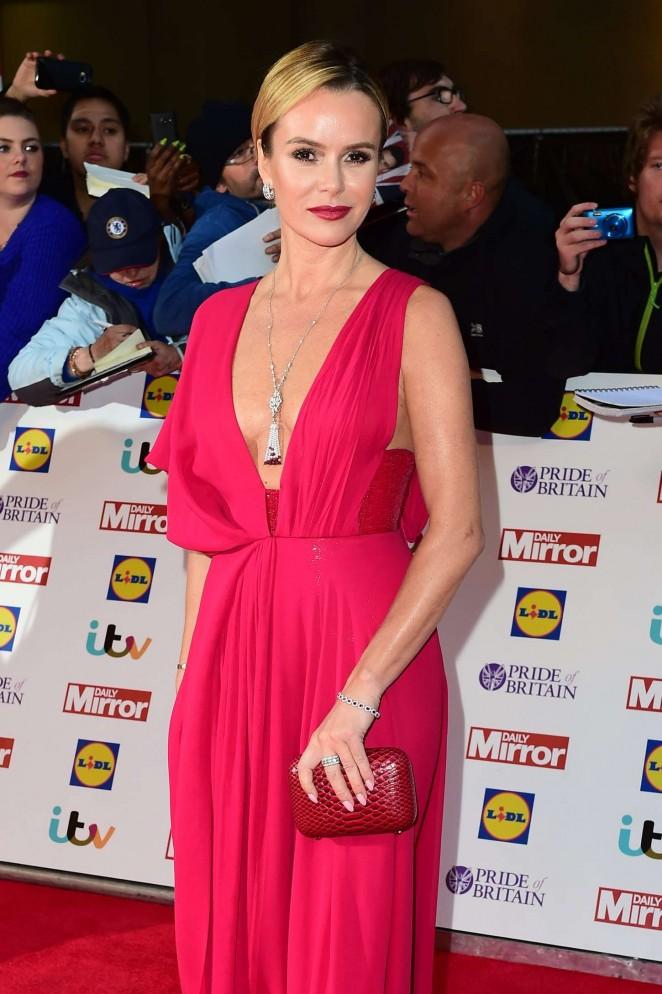 Amanda Holden - 2015 Pride of Britain Awards in London