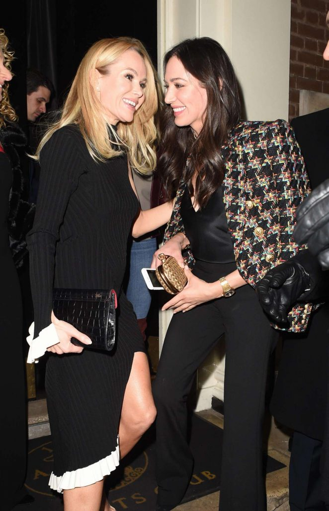 Amanda Holden and Lauren Silverman - Night Out in London