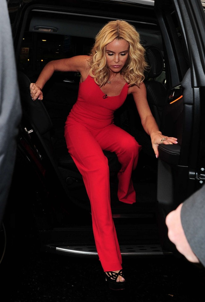 Amanda Holden - Arriving at Britains Got Talent Auditions in London