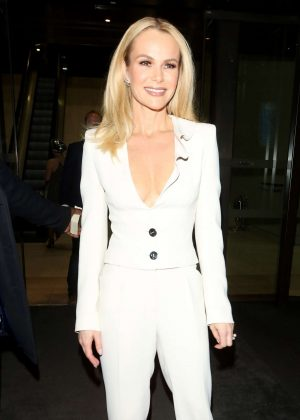 Amanda Holden - Arriving at Stepping Out After Party in London