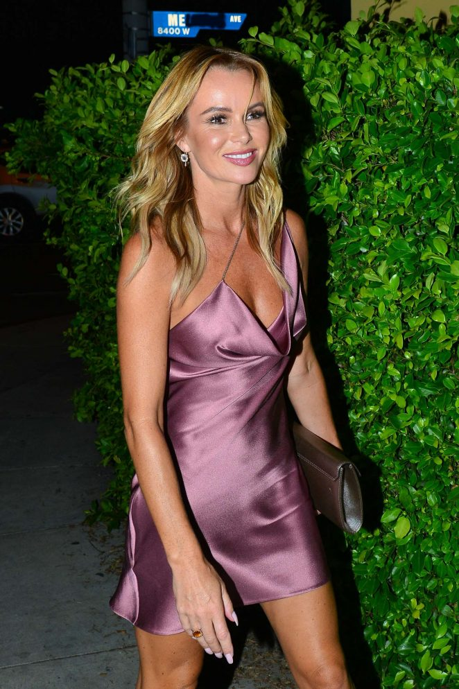 Amanda Holden - Arriving to the Simon Cowell 'Hollywood Star Celebration Party' in LA