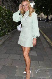 Amanda Holden at Annabel's in London