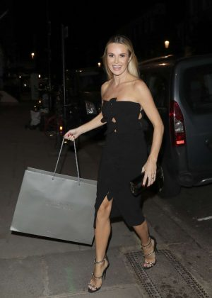 Amanda Holden at Simon Cowells Birthday Party in London