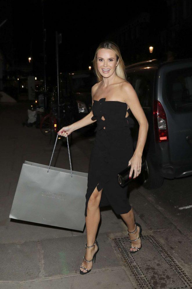 Amanda Holden at Simon Cowells Birthday Party in London