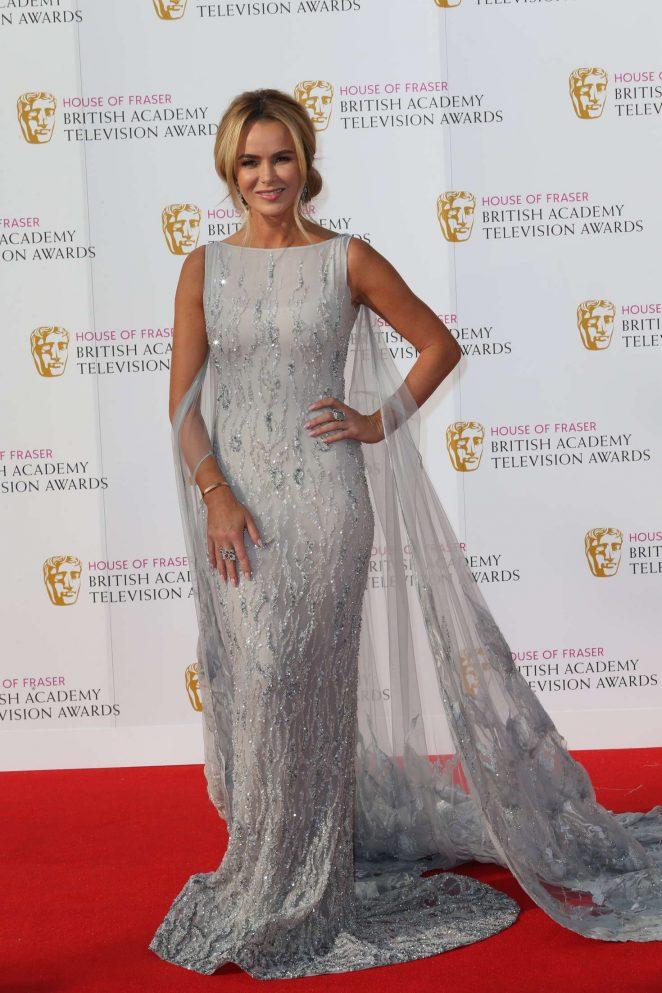Amanda Holden - BAFTA TV Awards 2016 in London