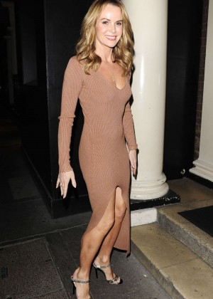 Amanda Holden - BGT Dinner Party in London