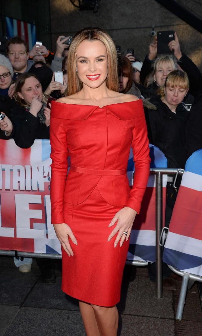 Amanda Holden - Britain's Got Talent Auditions 2015 in Edinburgh