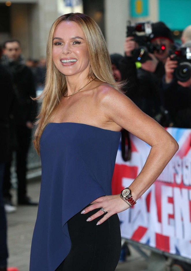Amanda Holden: Britains Got Talent Auditions -01