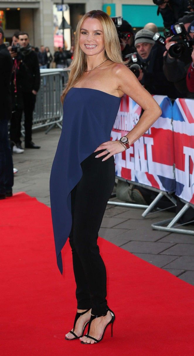 Amanda Holden: Britains Got Talent Auditions -05