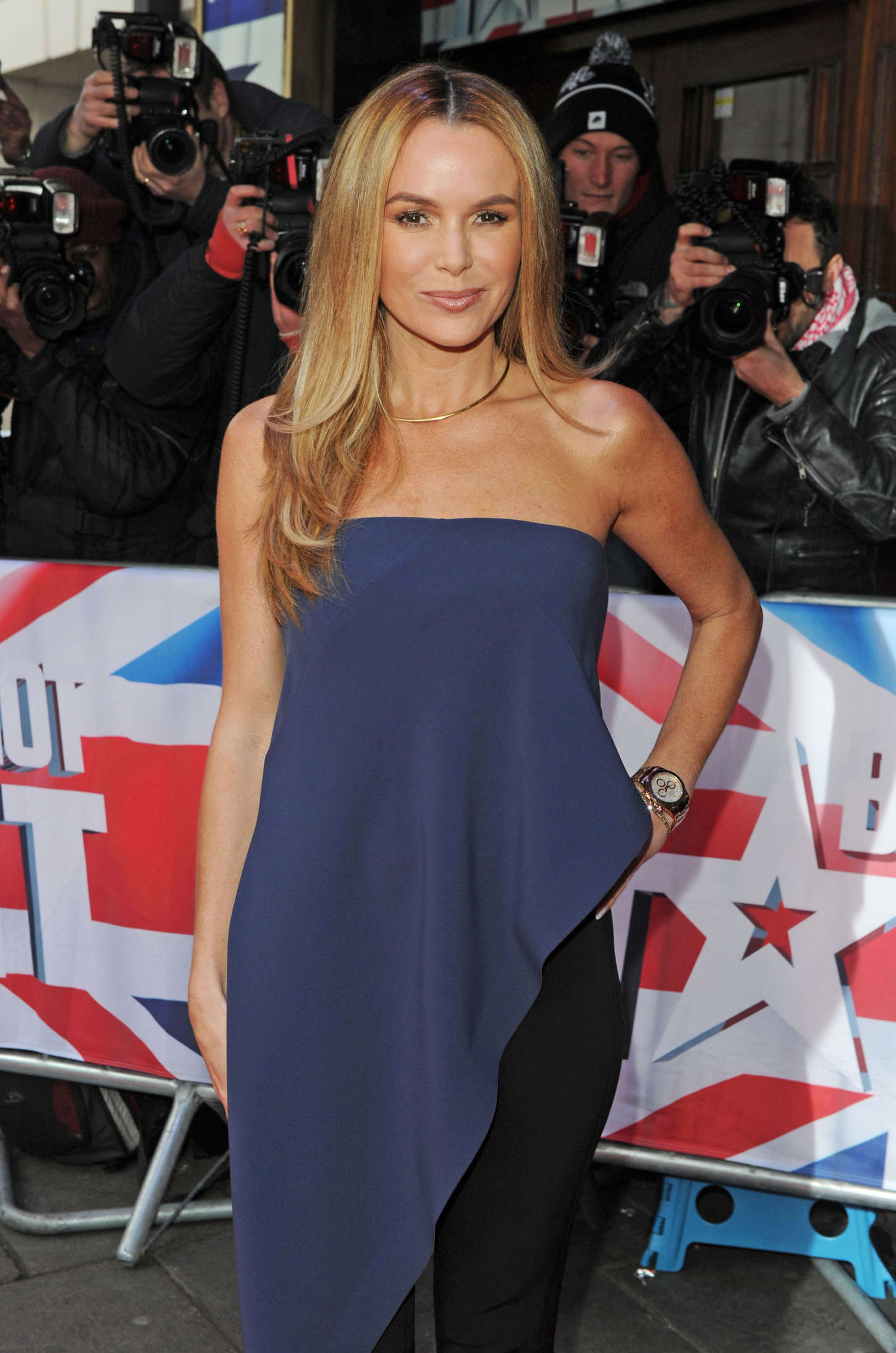 Amanda Holden - Britain's Got Talent Auditions in London