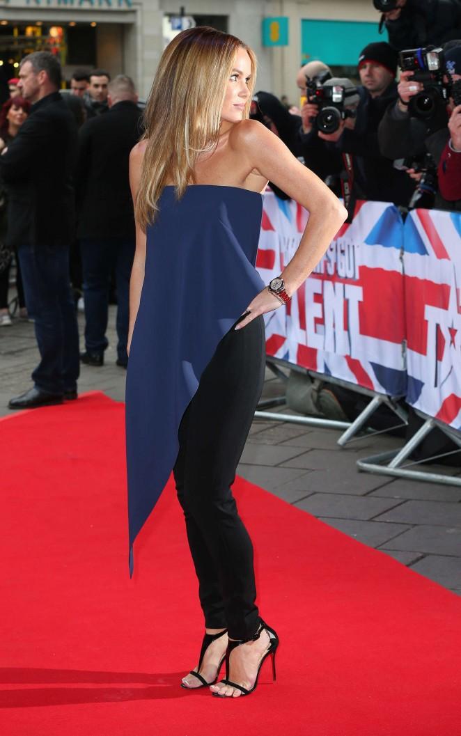 Amanda Holden: Britains Got Talent Auditions -10