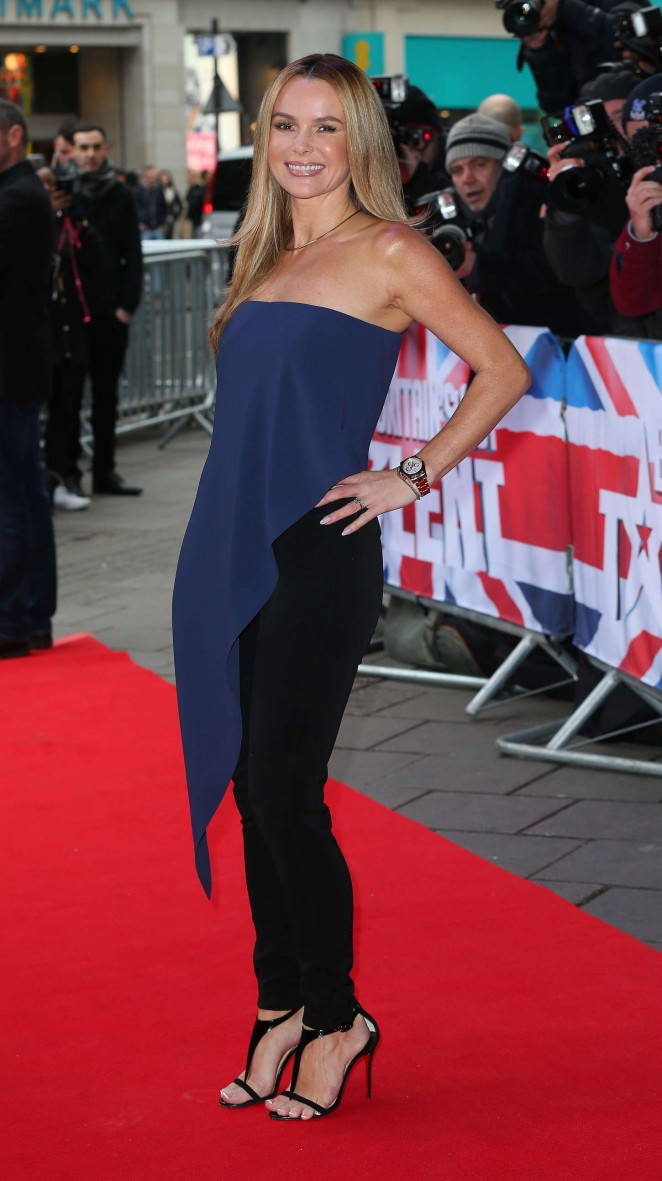Amanda Holden: Britains Got Talent Auditions -13