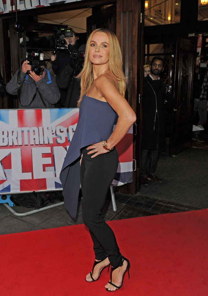 Amanda Holden: Britains Got Talent Auditions -17