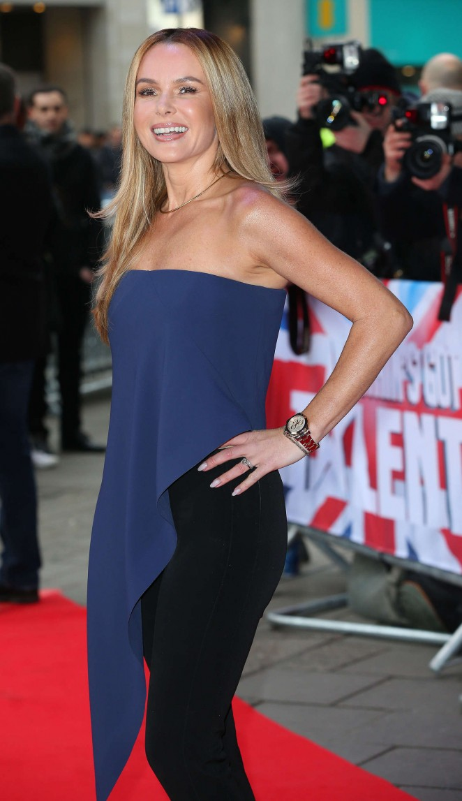 Amanda Holden: Britains Got Talent Auditions -19