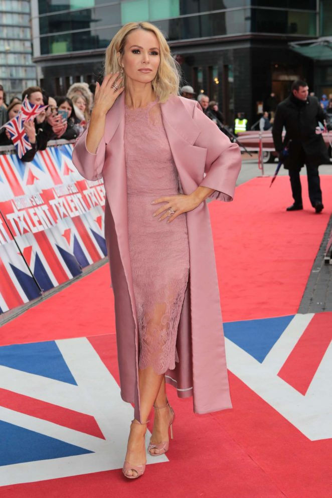 Amanda Holden - Britain's Got Talent Auditions in Manchester
