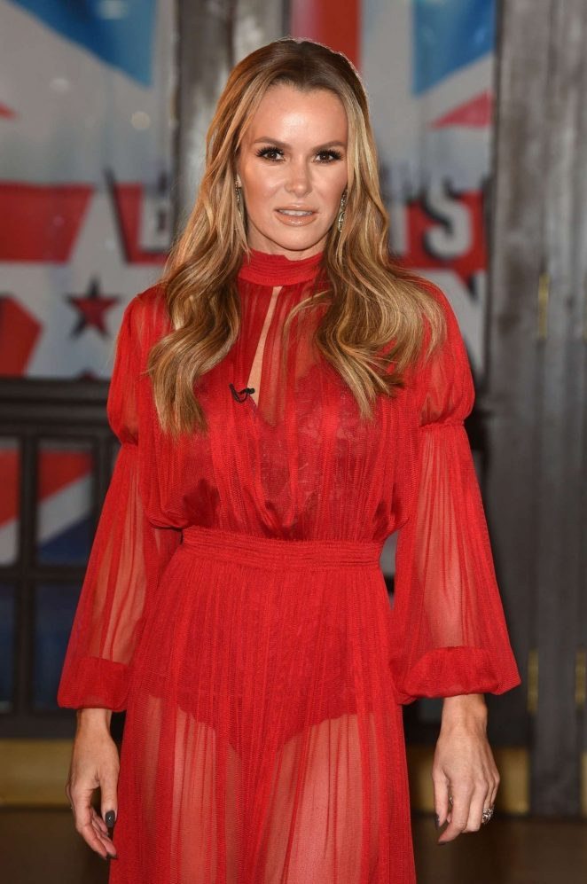 Amanda Holden - Britain's Got Talent Photocall in Blackpool