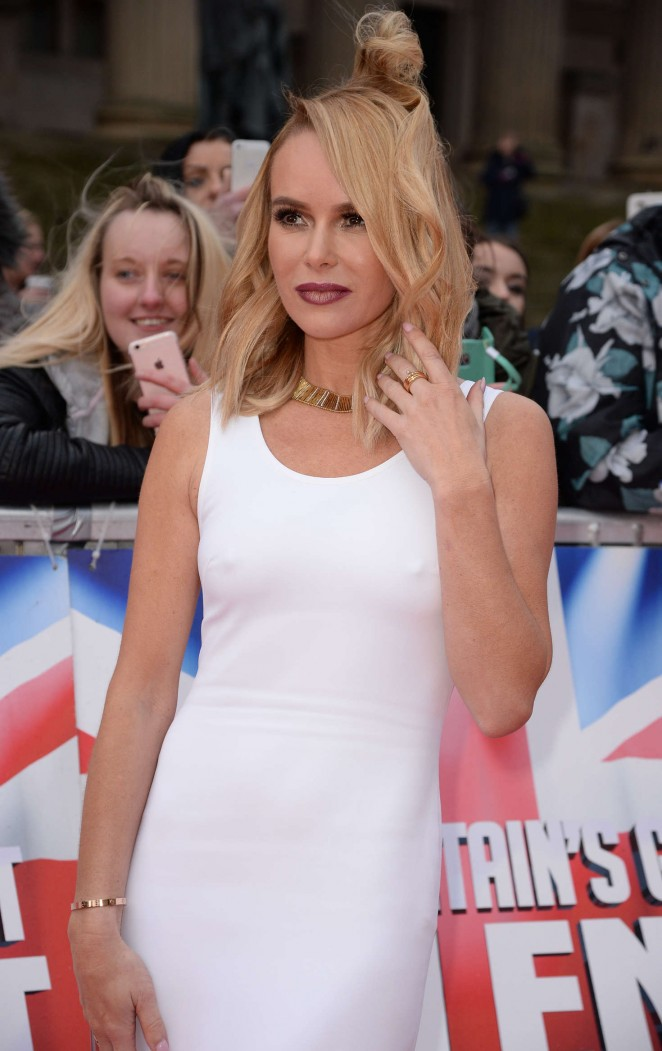 Amanda Holden - Britain's Got Talent Red Carpet Arrivals in Liverpool