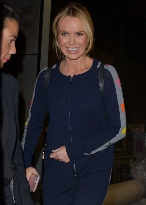 Amanda Holden – Leaves the first Britain's Got Talent auditions in London