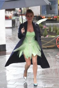 Amanda Holden - Leaving Heart Radio as Tinkerbell in London
