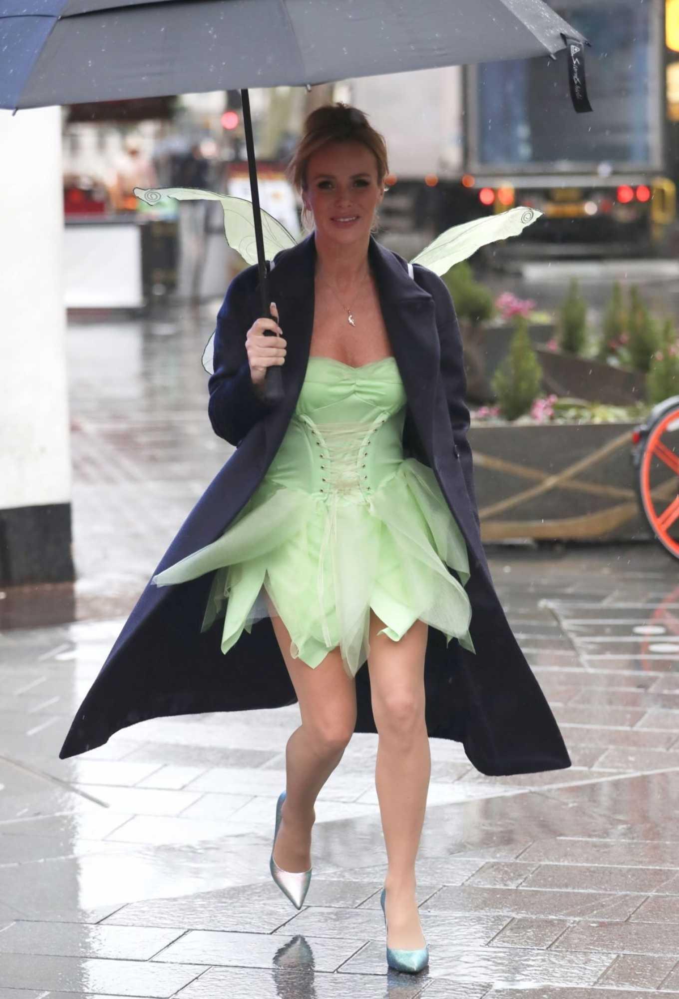 Amanda Holden - Leaving Heart Radio as Tinkerbell in London