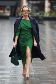 Amanda Holden - Leaving Heart Radio in London