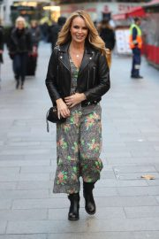Amanda Holden - Leaving Heart Radio Show in London