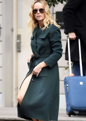 Amanda Holden - Leaving her Hotel in Manchester