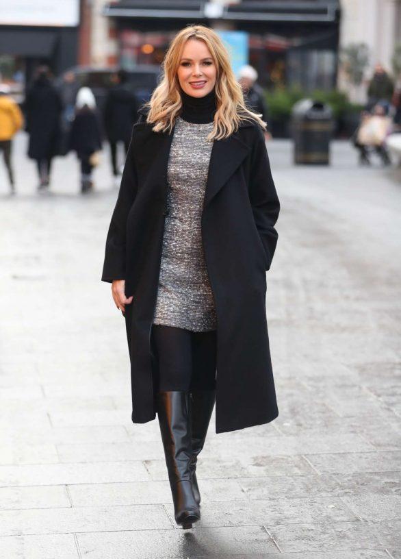 Amanda Holden - Leaving the Heart Radio in London