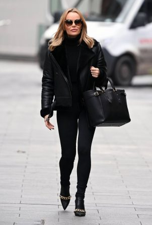 Amanda Holden - Look classy while leaving the Global Studios in London