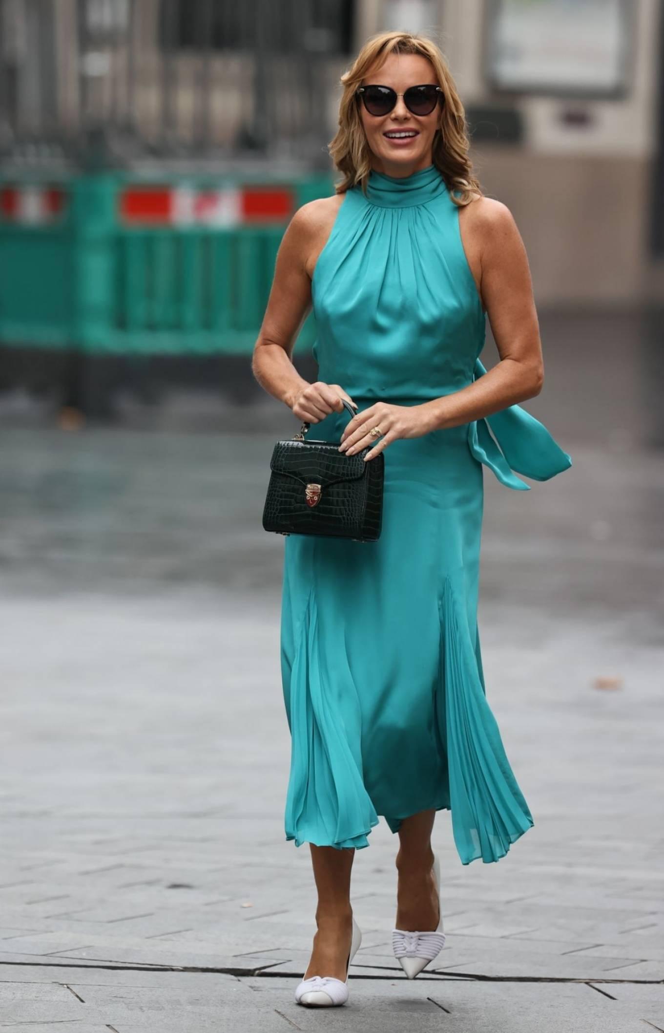 Amanda Holden 2020 : Amanda Holden – Looks stylish at Heart Radio in London-02
