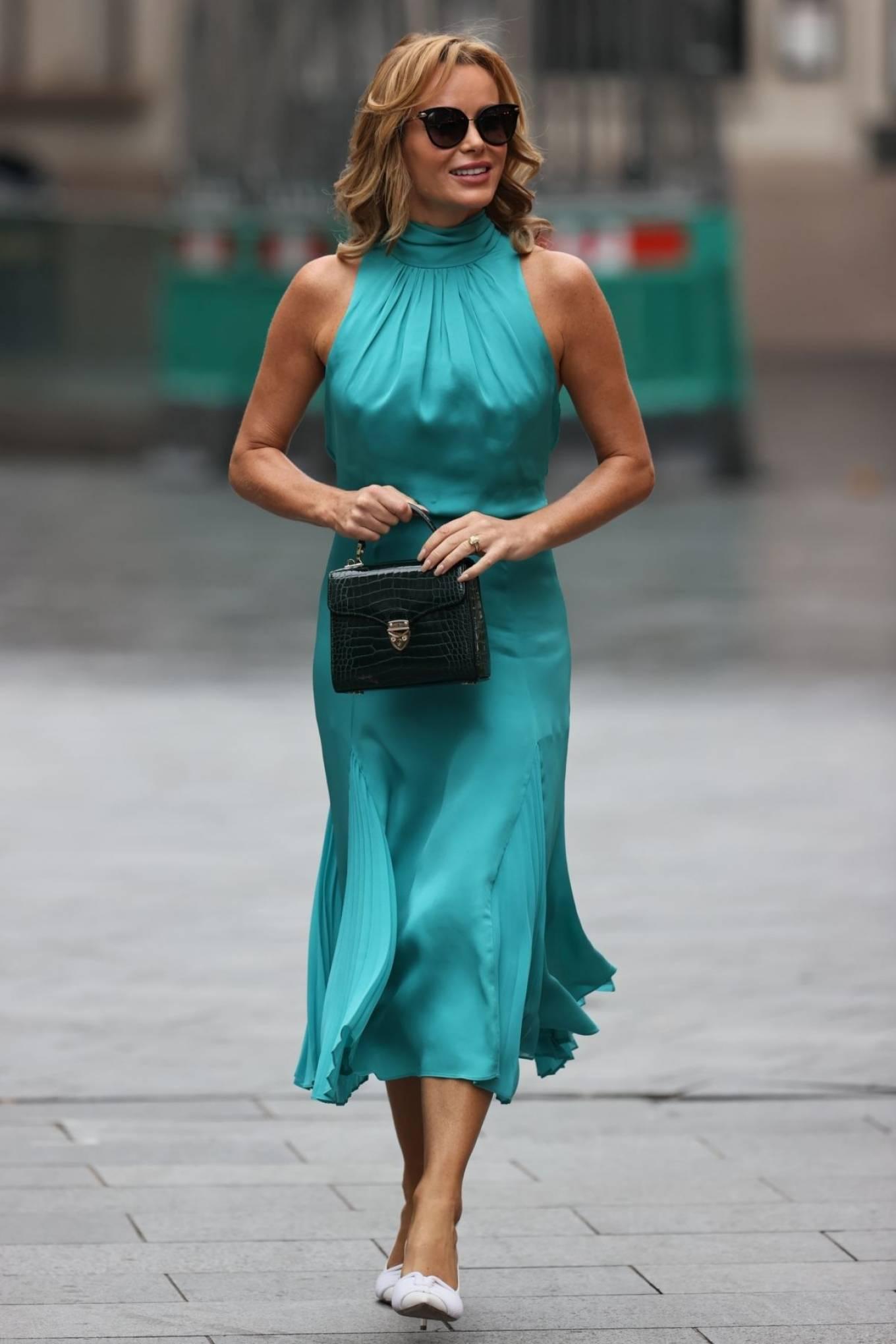 Amanda Holden 2020 : Amanda Holden – Looks stylish at Heart Radio in London-04