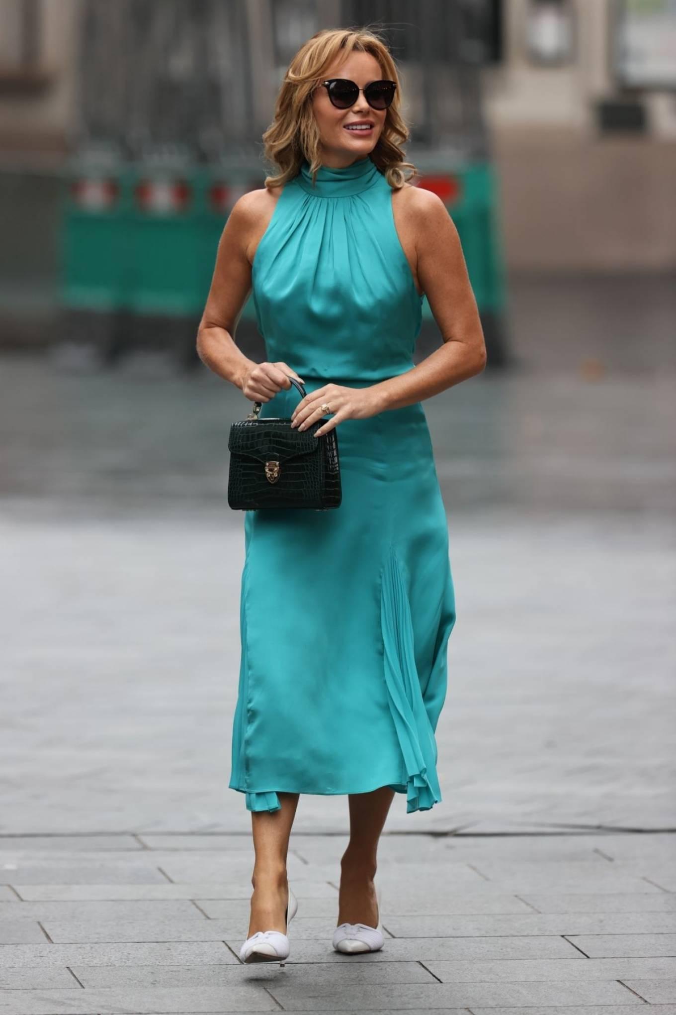 Amanda Holden 2020 : Amanda Holden – Looks stylish at Heart Radio in London-10