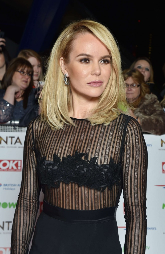 Amanda Holden - National Television Awards 2016 in London