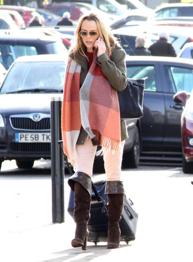 Amanda Holden out and about in Portsmouth