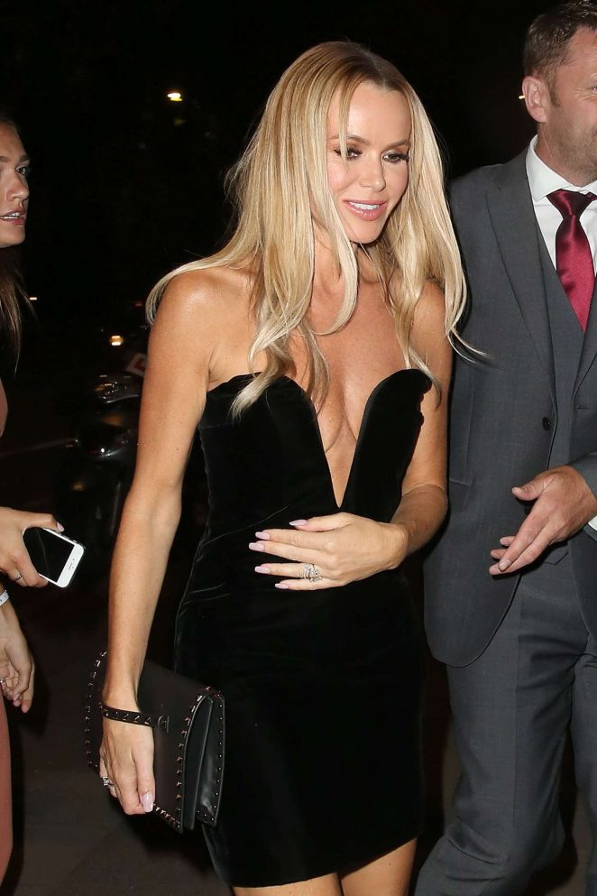 Amanda Holden - Pictured at Britain's Got Talent Party in London