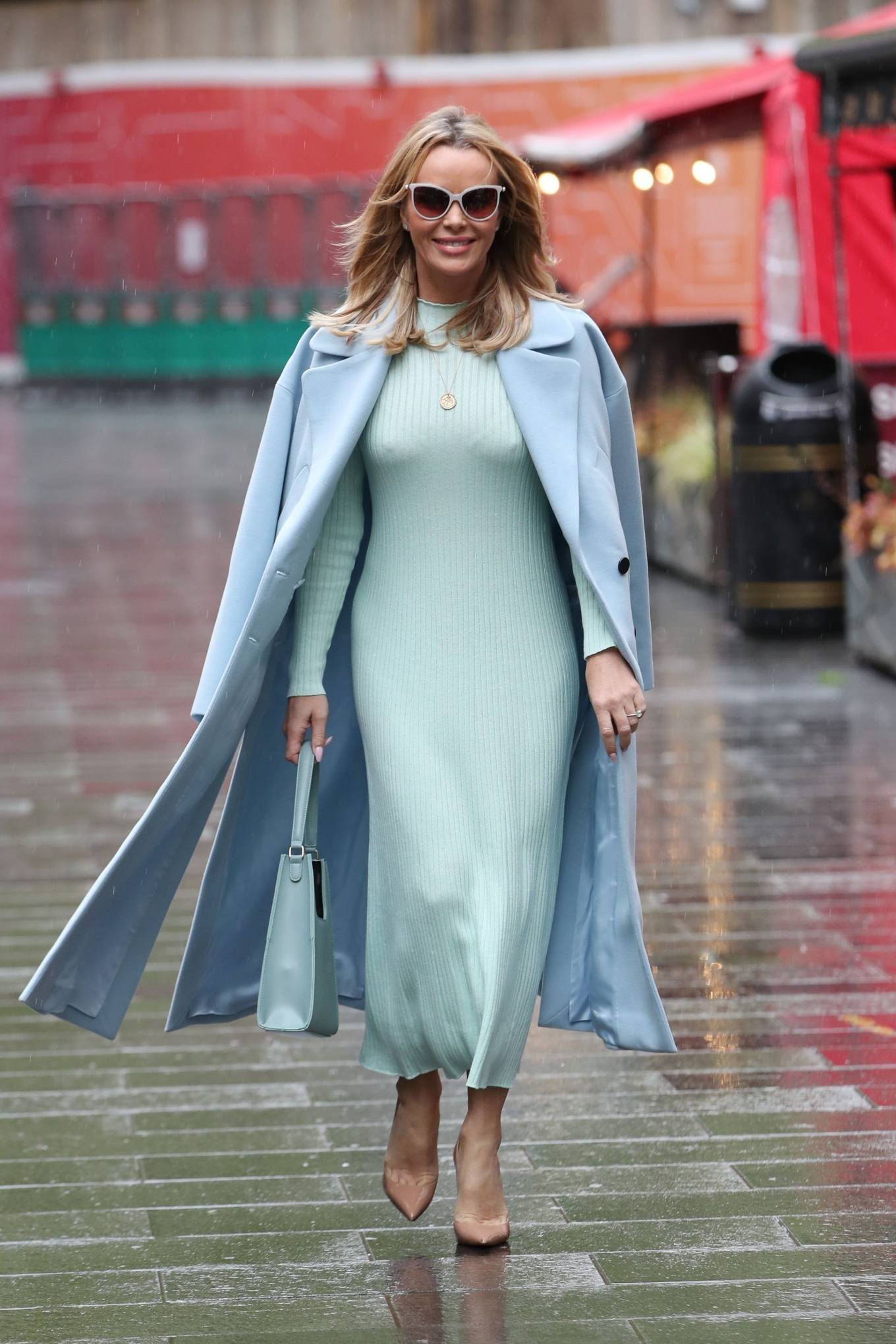 Amanda Holden - Pictured at Global Radio in London