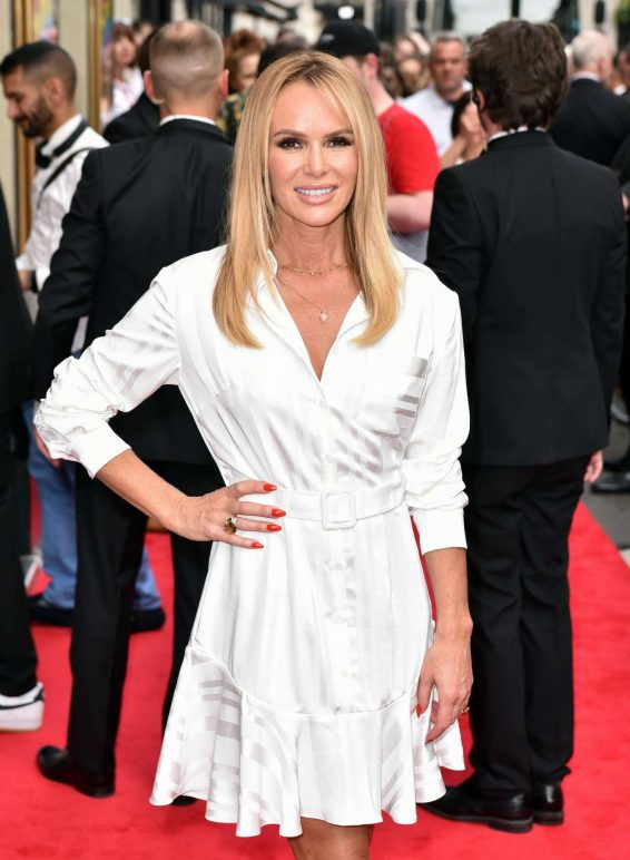 Amanda Holden - Press Night for Joseph and the Amazing Technicolor Dreamcoat in London