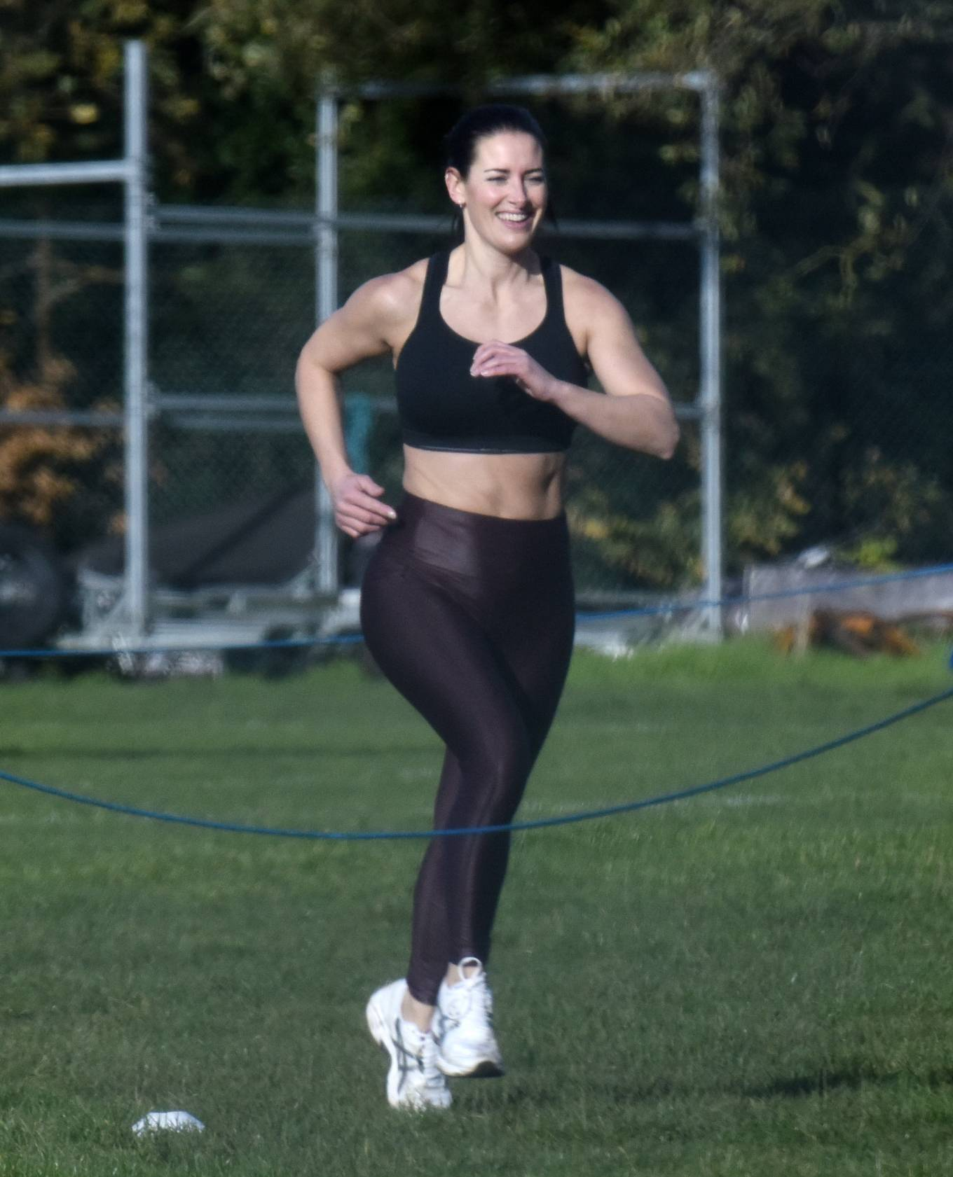 Amanda Lamb - Gym Workout in Richmond