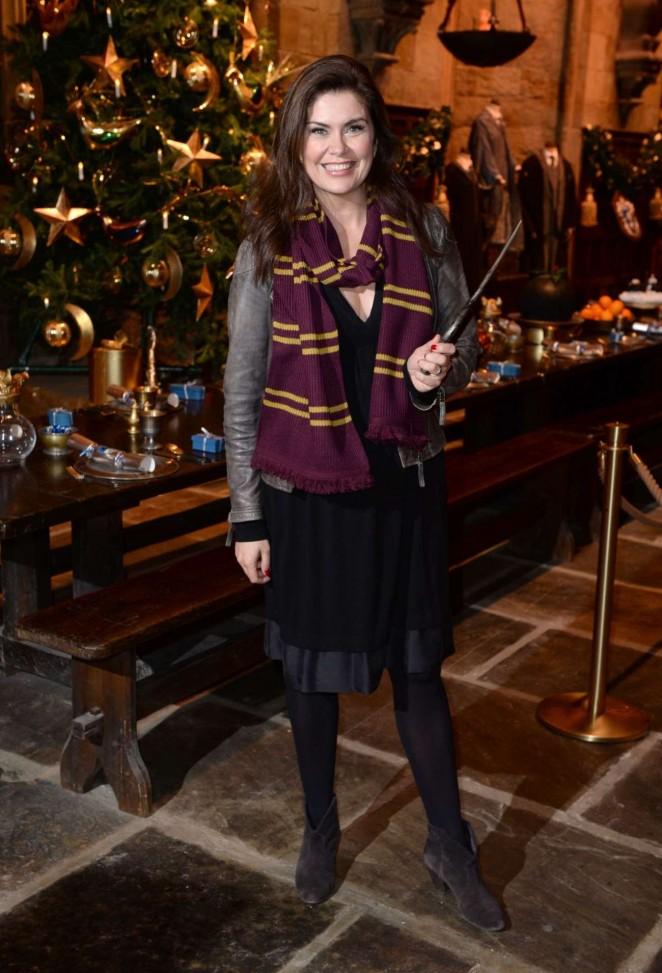 Amanda Lamb - Hogwarts in The Snow Launch in Watford