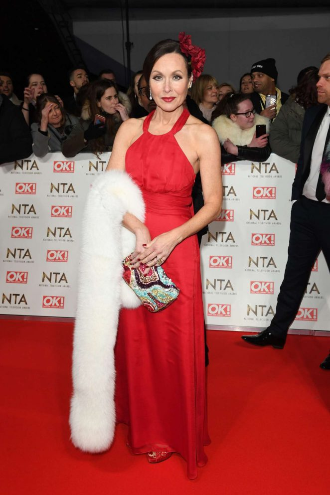 Amanda Mealing - 2017 National Television Awards in London